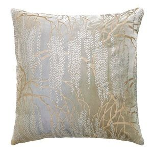 Kevin O'Brien Studio willow throw pillow msrp $426